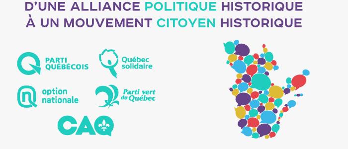 Voir la vidéo d'une alliance politique historique