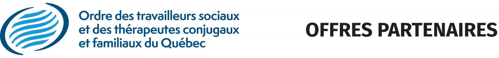 Logo Ordre des travailleurs sociaux et des thérapeutes conjugaux et familiaux du Québec (Offres partenaires)